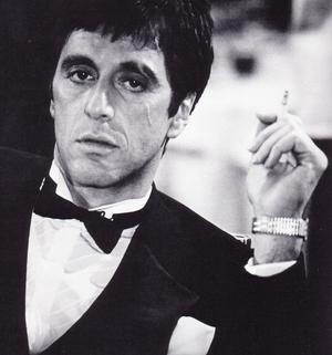 Scarface wallpaper containing a business suit entitled Scarface