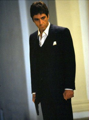Scarface wallpaper with a business suit, a suit, and a two piece titled Scarface