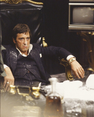 Scarface wallpaper containing a coffee break and a sign titled Scarface