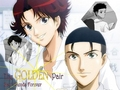 "prince-of-tennis - Seigaku 'Golden Pair"" wallpaper"