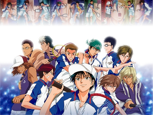 Prince of Tennis wallpaper entitled Seigaku
