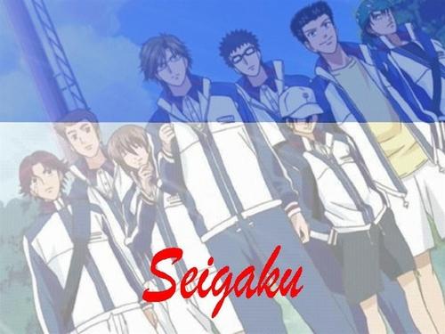 Prince of Tennis wallpaper with anime called Seigaku