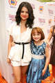 Selena Gomez and Joey King in the premiere of the movie