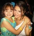 Selena and Joey