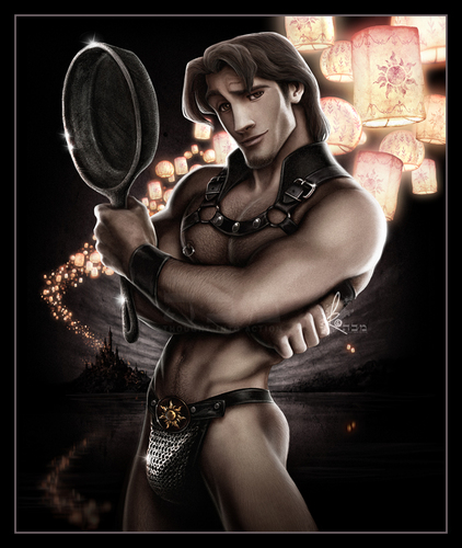 Leading men of Disney wallpaper entitled Sexy Flynn Rider