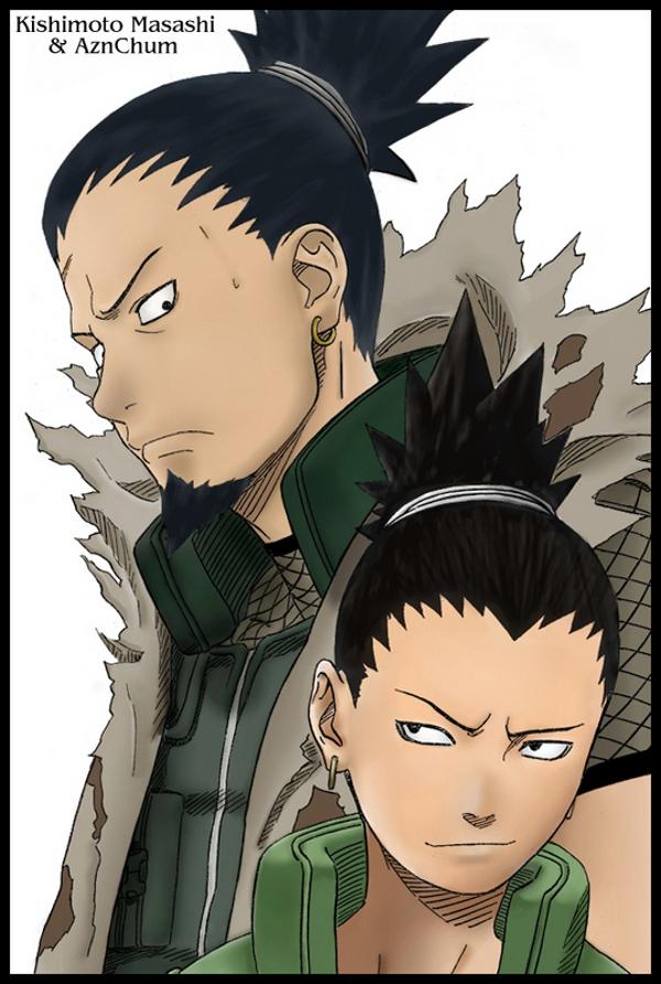 Shikaku and shikamaru