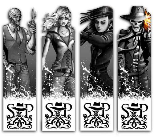 Skulduggery Pleasant wallpaper entitled Skul friends