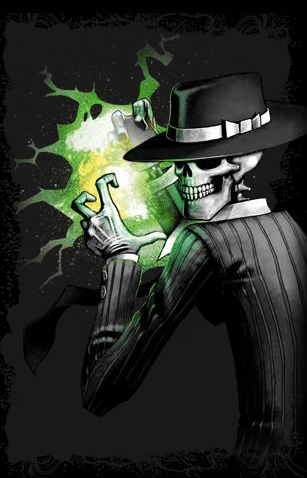 Skulduggery Pleasant fondo de pantalla possibly with anime called Skul