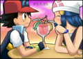 Smoothie Date! - pearlshipping fan art