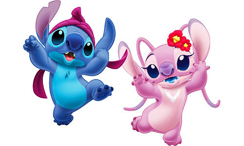 Stitch & angel