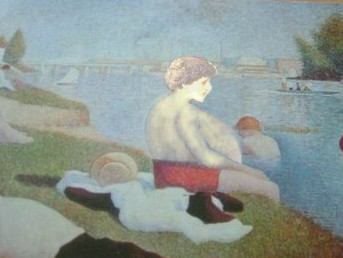 Study in Light (Paris Bather)