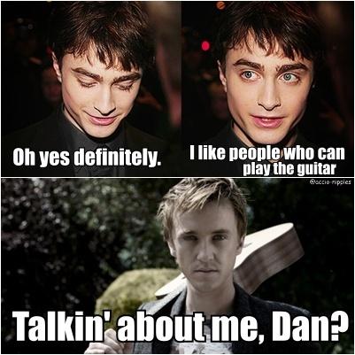 Talkin' about me, Dan?