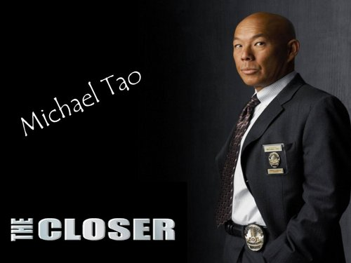 The Closer wallpaper with a business suit titled Tao