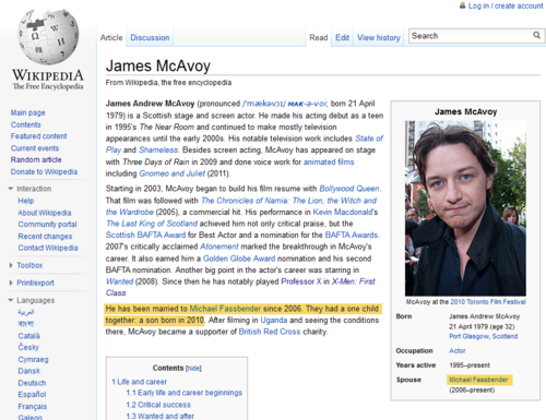 Thank 你 Wikipedia