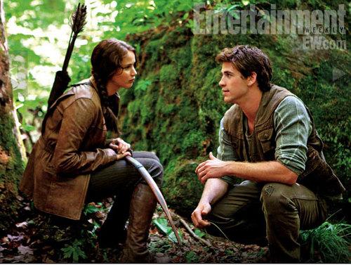 The Hunger Games movie still