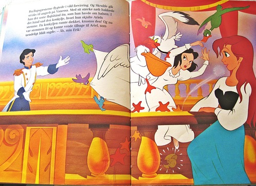 The Little Mermaid buku - Vanessa