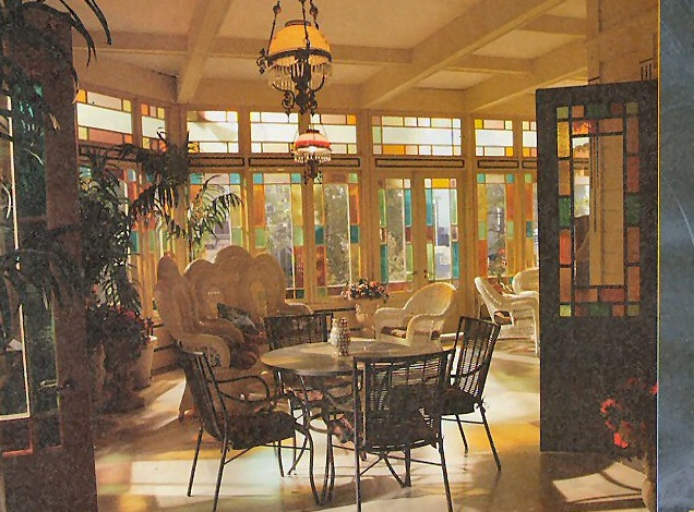 The Manor Conservatory And Dining Room Charmed World