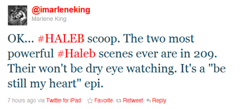 The two most powerful Haleb scenes ever are in 2x09!