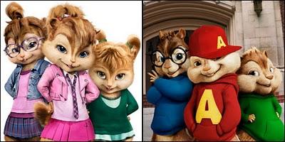 Theodore, Simon, Alvin