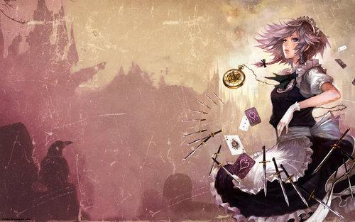 Touhou - Sakuya wallpaper