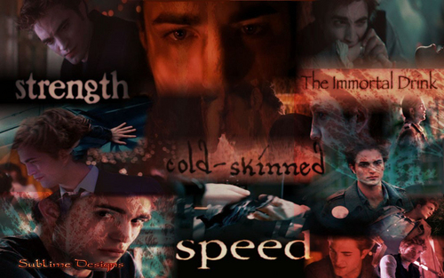 Twilight Saga fond d'écran fan Art