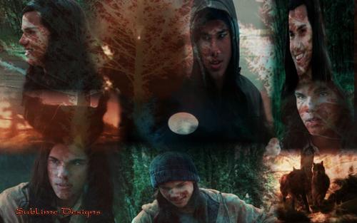 Twilight Saga wolpeyper tagahanga Art