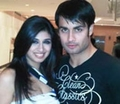 Vivian with his real life GF Vohbbij Dorabjee(Panchi) - vivian-dsena photo