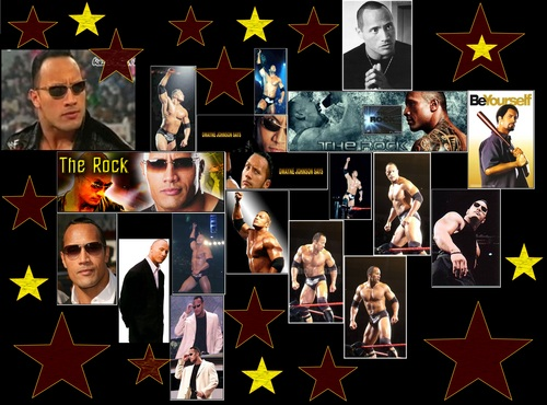 "Dwayne ""The Rock"" Johnson Обои entitled WWE Peoples Champion"