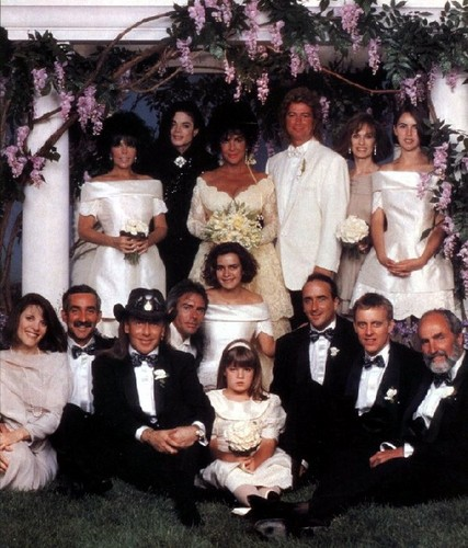 Wadding of Liz. 1991year. It was celebrating in NeverLand