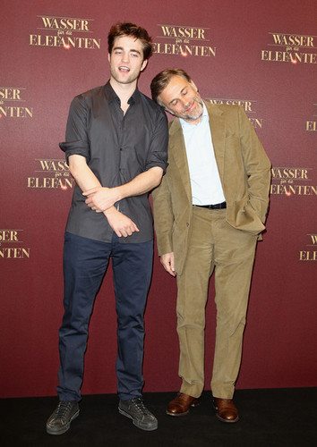 Water For Elephants Germany Photocall