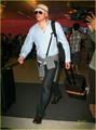 Wentworth Miller arrives on a flight at LAX International Airport on Sunday  - wentworth-miller photo