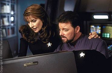 Will Riker and Deanna Troi