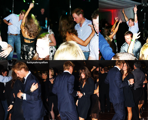 William&Kate dancing