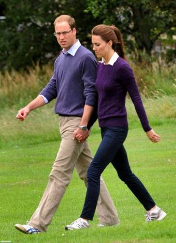 Prince William and Kate Middleton wallpaper with a wicket entitled William & Kate taking a stroll hand in hand