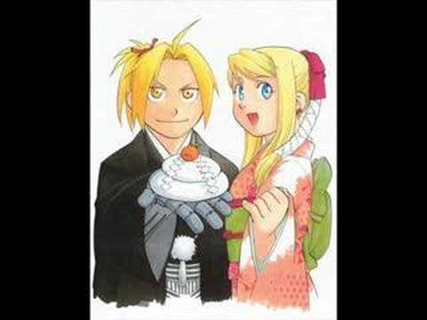 Winry-Ed married!!!
