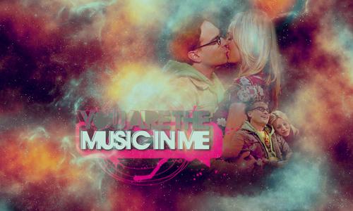 آپ are the موسیقی in me
