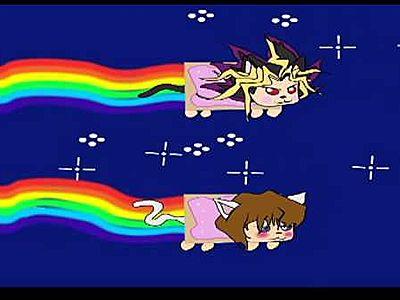 Yugioh Nyan Cat