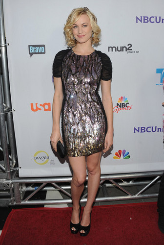 Yvonne Strahovski @ NBC Universal TCA 2011 Press Tour All-Star Party