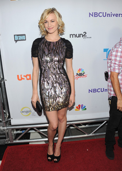 Yvonne Strahovski @ NBC Universal TCA 2011 Press Tour All-Star Party