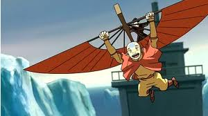 aang on his glider