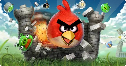 angry birds attack