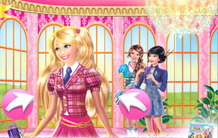 Exceptional Barbie Charm School Wallpaper
