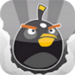 black bird - angry-birds icon
