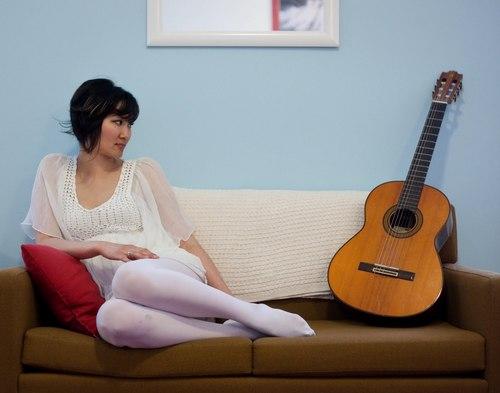 charlene with her gitaar