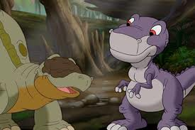 chomper & spike - the land before time cartoons Photo