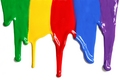 colourful paints - colors photo