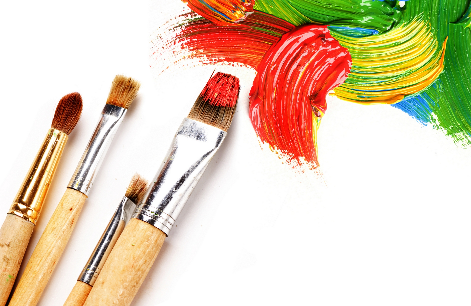Colors Images Colourful Paints Hd Wallpaper And Background