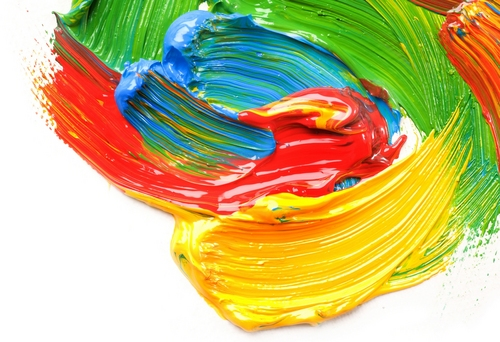 Colors wallpaper entitled colourful paints