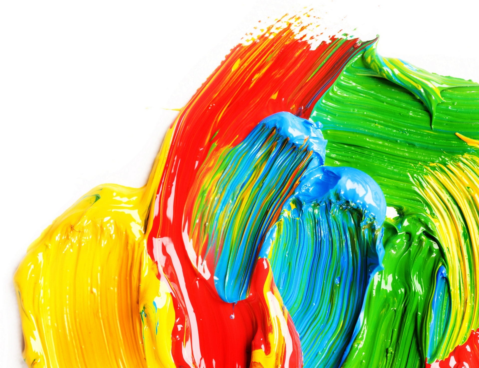 colourful paints