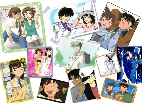 Detective Conan Couples wallpaper with an electric refrigerator, a refrigerator, and anime titled coupels